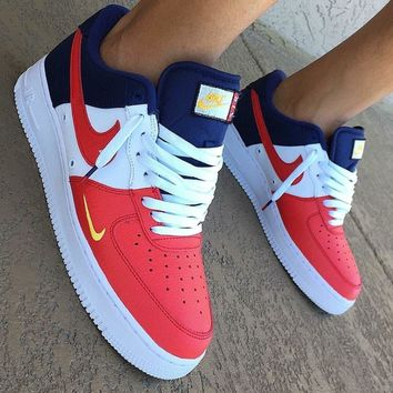 nike air force 1 low mini swoosh usa sneakers