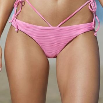 LA Hearts V Front Hipster Bikini Bottom at PacSun.com