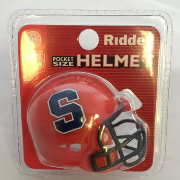 Syracuse Orange Helmet Riddell Pocket Pro VSR4 Style