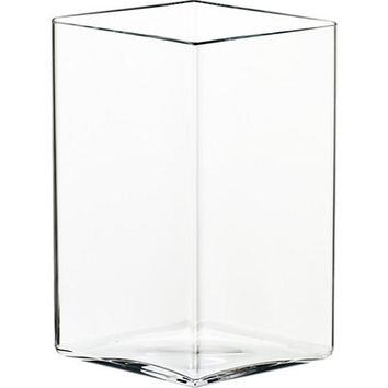 Ruutu Vase Large in Clear - Pop! Gift Boutique