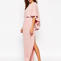 ASOS Extreme Cape Maxi Dress at asos.com