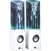 Xcellon DWS-100W USB-Powered Stereo Speakers (White)
