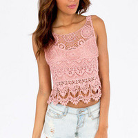 Shirley Back Tie Crop Top $32