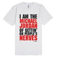 Si Robertson Quote Shirt - Michael Jordan-Unisex White T-Shirt