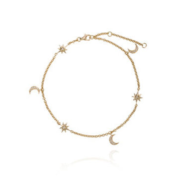 Shay Moon And Starlet Anklet - Farfetch
