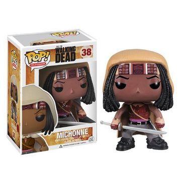Funko POP The Walking Dead Michonne Vinyl Action Figure Model With Original Box