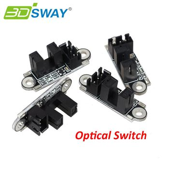 3DSWAY 3D Printer Optical Endstop 6pcs/lot Photoelectric Light Control Optical Limit Switch with 1M Cable for 3D Printer Board