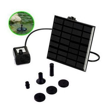 ONETOW 180L/H Brushless DC Solar Water Pump Power Panel Kit Fountain Pool Garden Watering Pumb Solar Power Fountain Garden Sprinklers