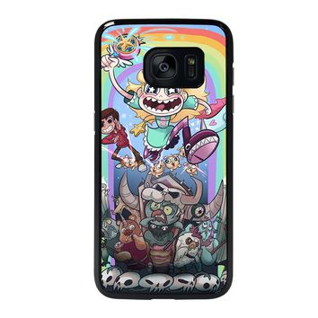 DISNEY STAR VS THE FORCE OF EVIL Samsung Galaxy S7 Edge Case Cover