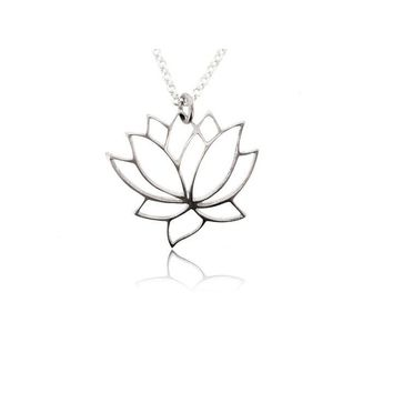 LOTUS FLOWER PENDANT FOR NECKLACE