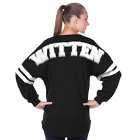Witten Eighty Two - Jason Witten Fan ❤ - Women's Long Sleeve V-Neck Spirit Jer