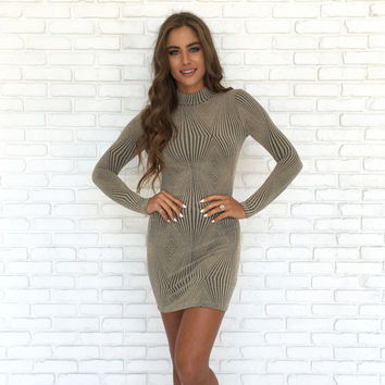 Prism Bodycon Dress