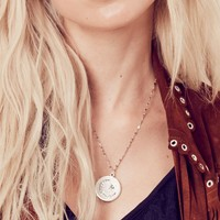 The Moon & Star Necklace - Silver | Vanessa Mooney Jewelry
