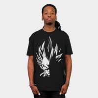 Prince Vegeta Into Light T Shirt By Proxish Design By Humans