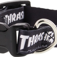 Thrasher Dog Collar Small Black (1 wide)