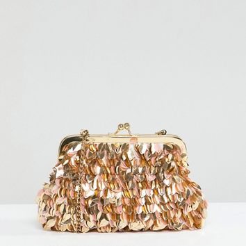 Park Lane Handmade Pouch Clutch Bag at asos.com