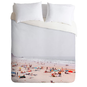 Hello Twiggs At the beach Duvet Cover