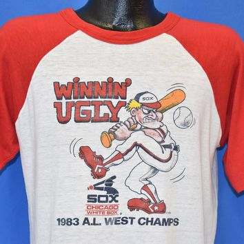 80s Chicago White Sox Winnin Ugly 1983 t-shirt Large