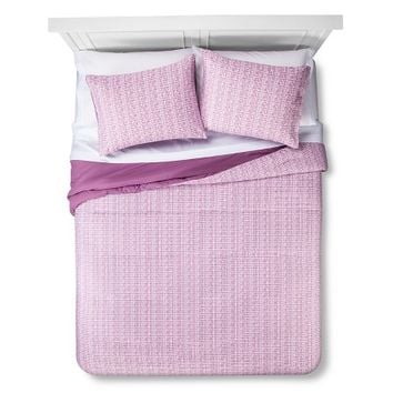 Room Essentials Linework Bed-In-A-Bag w/ Sheet Set