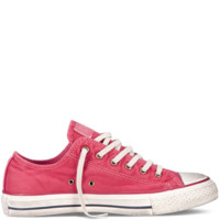 Converse - Chuck Taylor Washed Canvas - Low - Tango Red
