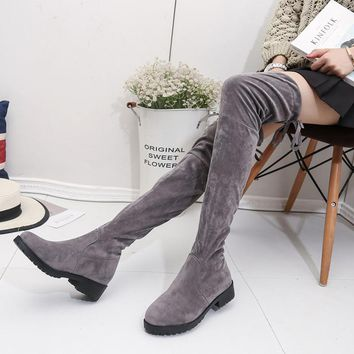 Hot Deal On Sale Skinny Winter Boots [11771983951]
