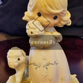 """Precious Moments """"The Lord Is My Shepherd"""" Figurine PM-851"""