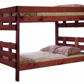 Jericho Extra Long Full over Full Bunk Bed