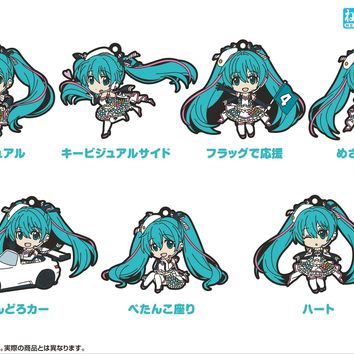 Racing Miku 2019 - Blind Box Nendoroid Plus Collectible Rubber Keychains (Pre-order)