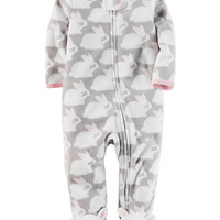 Fleece Zip-Up Sleep & Play