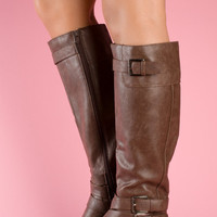 Lolita's Boot – Dark Tan