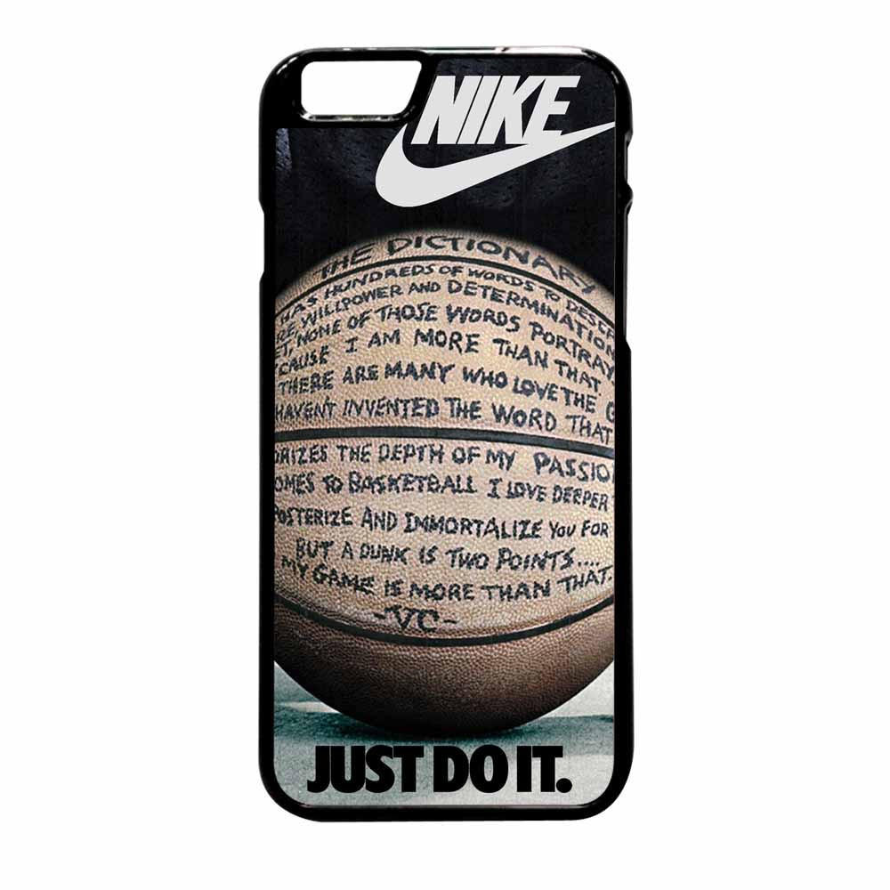 Just Do It Quotes Nike Just Do It Quote Basketball Iphone 6 From Case Beauty Free
