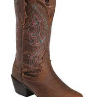 Justin Stampede Waterproof Cowgirl Boots - Square Toe - Sheplers