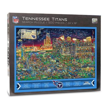 Tennessee Titans Find Joe Journeyman 500-piece Puzzle