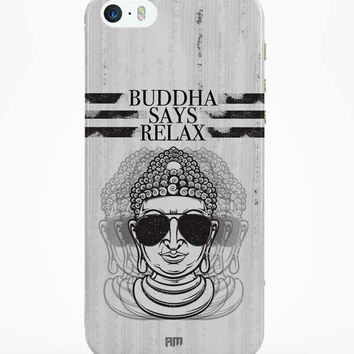 Buddha Says Relax iPhone 5 / 5S Case