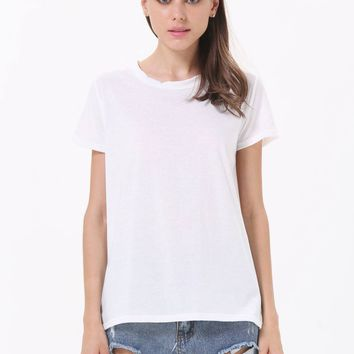 Posh Girl White Wings T-Shirt