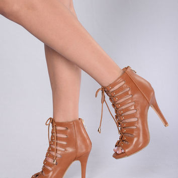 After Party Heel - Tan
