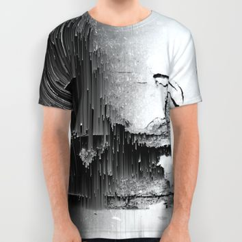 Crumbling Facade All Over Print Shirt by Ducky B