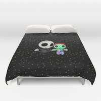 Halloween Babies | Jack | Sally | Christmas | Nightmare Duvet Cover by Azima