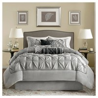 Piedmont Ruched Multiple Piece Comforter Set - 7-pc