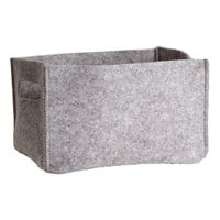 H&M - Felt Storage Basket - Gray