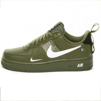 NIKE AIR FORCE 1 07 LOW Fashion New Women Men Sports Casual Wild badbde8039