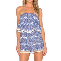 Le Salty Label Magnolia Playsuit in Lilac