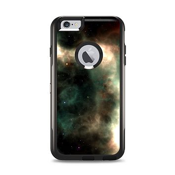 The Dark Green Glowing Universe Apple iPhone 6 Plus Otterbox Commuter Case Skin Set