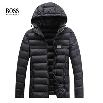 Hugo Boss Fashion Casual Cardigan Jacket Coat