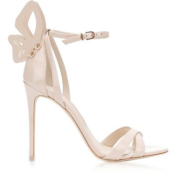 Sophia Webster Nude Leather Madame Chiara Sandals
