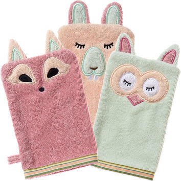 Woodland: Organic Cotton Bath Mitt