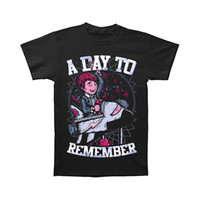 A Day To Remember Men's  Space Boy T-shirt Black