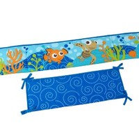 Disney Nemo Crib Traditional Padded Bumper