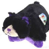 "Pillow Pets Pee Wees Curious Cat Seen On TV 2011 11"" Stuffed Animal Plush Toy"