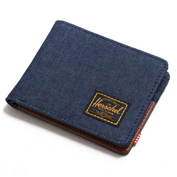 Hank Wallet Dark Denim